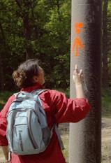 Wegweisung Pilgerweg Berlin-Bad Wilsnack