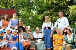 Pilgertheater beim Pilgerfest